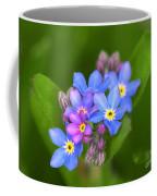Forget-me-not Stylized Coffee Mug