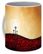 Forgiven - Christian Art By Sharon Cummings Coffee Mug