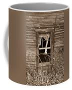 Forlorn Window Coffee Mug