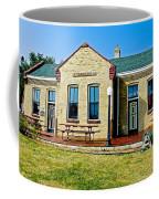 Former Rock Island Line Railroad Depot In Pipestone-minnesota Coffee Mug