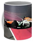 Formula 1 Grand Prix Crash Coffee Mug
