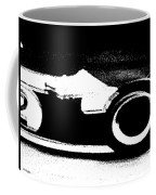 Formula 1 Racer In Action Coffee Mug