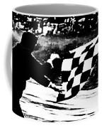 Formula 1 Vintage Checkered Flag Coffee Mug