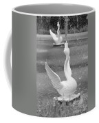 Forsyth Park Fountain - Black And White 3 2x3 Coffee Mug