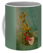 Forsythia Yellow Bells Coffee Mug