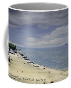 Fort Gratiot Light House Beach Coffee Mug