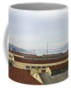 Fort Mason And Golden Gate Bridge Coffee Mug