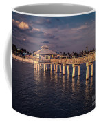 Fort Myers Beach Fishing Pier Coffee Mug