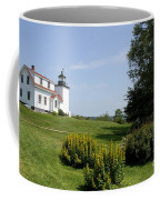 Fort Point Light Maine Coffee Mug