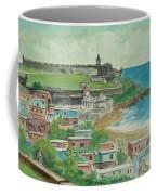 Fort San Felipe Del Morro From Fort San Cristobal Pr Coffee Mug