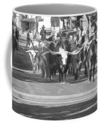 Fort Worth Herd Cattle Drive Coffee Mug