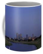 Fort Worth Sunset Skyline Coffee Mug