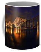 Forth Rail Bridge At Sunset Coffee Mug