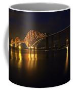 Forth Rail Bridge With Train Coffee Mug