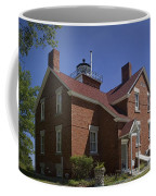 Forty Mile Point Lighthouse In Michigan Number 417 Coffee Mug