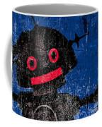 Foundation Number 102 Robot Graffiti  Coffee Mug by Bob Orsillo
