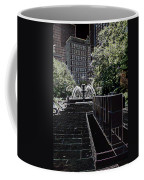 Fountain Abstract Coffee Mug