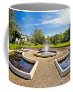 Fountain And Park In Zagreb Coffee Mug