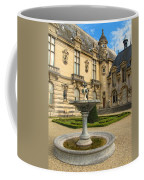 Fountain At Chateau De Chantilly Coffee Mug
