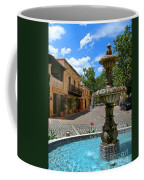 Fountain At Tlaquepaque Arts And Crafts Village Sedona Arizona Coffee Mug by Amy Cicconi