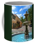 Fountain At Tlaquepaque Arts And Crafts Village Sedona Arizona Coffee Mug