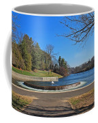 Fountain At Wachusett Dam Coffee Mug