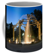Fountain In Riverfront Park Coffee Mug