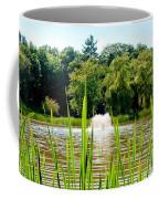 Fountain Side Coffee Mug by Greg Fortier