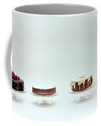 Four Cakes Side By Side Coffee Mug
