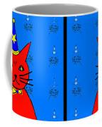 Four Cats Coffee Mug