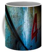 Four Down Coffee Mug
