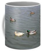 Four Ducks Coffee Mug