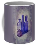 Four Glass Bottles Coffee Mug