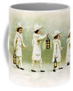 Four Little Girls Coffee Mug