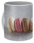 Four Macarons In A Row Coffee Mug
