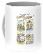Four Panels Advertise Parkway Playland Coffee Mug