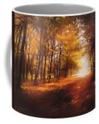 Four Seasons Autumn Impressions At Dawn Coffee Mug