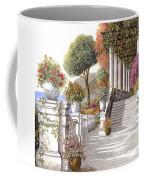 four seasons-summer on lake Como Coffee Mug