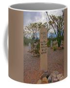 Four Slugs From A 44 No Less No More Coffee Mug