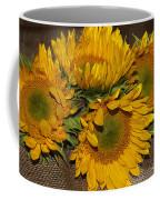 Four Sunflowers Coffee Mug