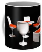 Four Tulip Chairs Coffee Mug
