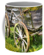 Four Wheels But No Horse Coffee Mug by Heiko Koehrer-Wagner