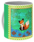 Fox-c Coffee Mug by Jean Plout