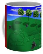 Fox Mound Coffee Mug by Keith Dillon