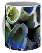 Foxglove Expressive Brushstrokes Coffee Mug