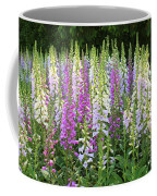 Foxglove Garden In Golden Gate Park Coffee Mug