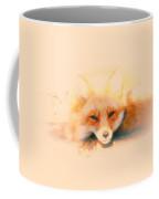 Foxy Coffee Mug by Karol Livote