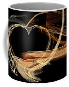 Fractal 24 Es Heart Coffee Mug