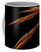 Fractal 25 Fiya Coffee Mug