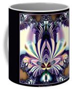 Fractal 26 Jeweled Tone Lotus Flower Coffee Mug